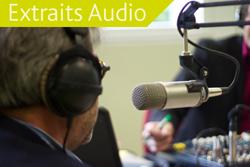 Des extraits audio à écouter et à partager
